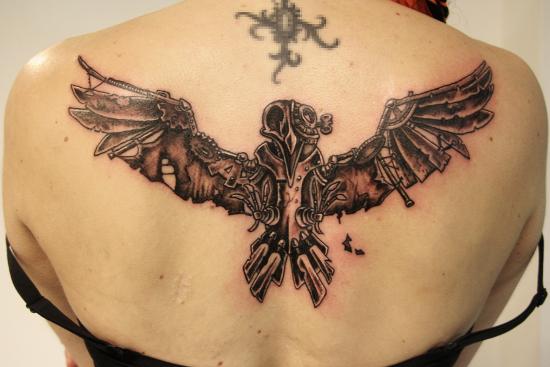 steampunk_pssaro_de_volta_tatuagem_para_mulheres