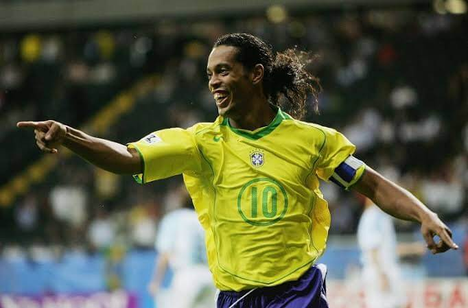 Former Brazilian striker Ronaldinho. PHOTO |  SKYSPORTS