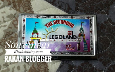 Name Card Holder Legoland Dari Mama Maszul