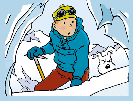 Bruselas Valonia: Tintin y Milou, el personaje de cómic belga más famoso e importante, y uno de los más antiguos