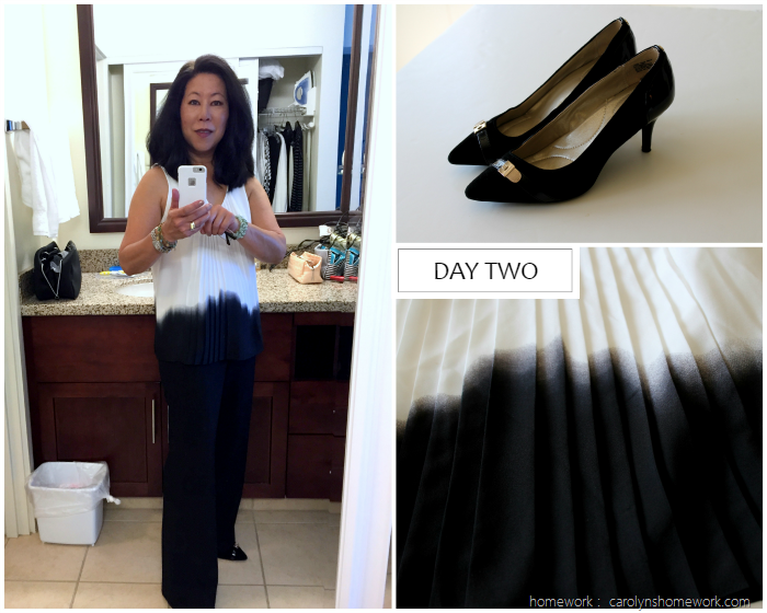 What I Wore Business Travel Day Two