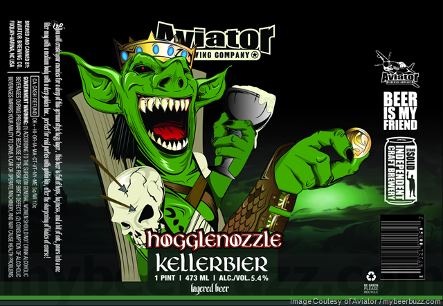 Aviator - Hogglenozzle Kellerbier 16oz Cans