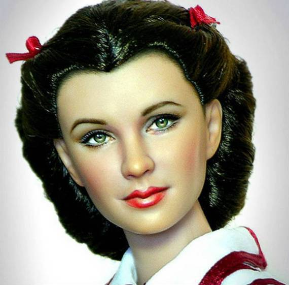 унесенные ветром – кукла скарлетт о'хара (вивьен ли) (1) – ноэль круз