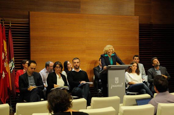 Manuela Carmena hace balance de sus primeros 100 días de gobierno