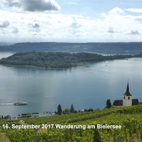 Wanderung am Bielersee