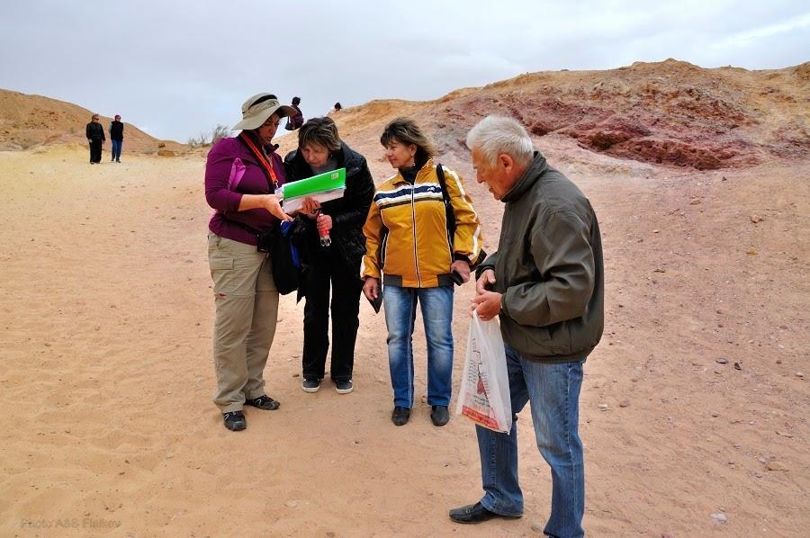 Как образовался кратер Махтеш Гадоль. Экскурсия гида Светланы Фиалковой в пустыню Негев.