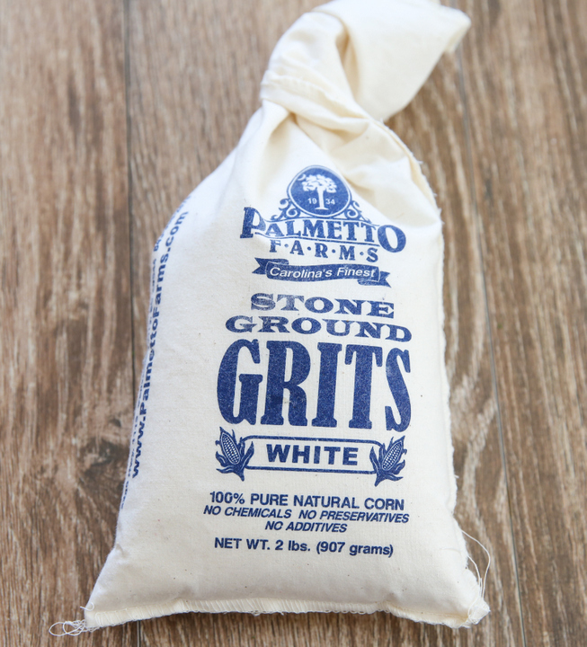 photo of a bag of grits
