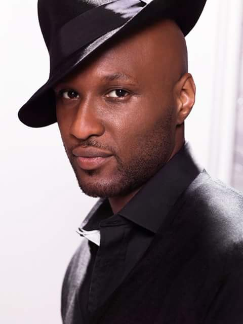 Lamar Odom in stylish look
