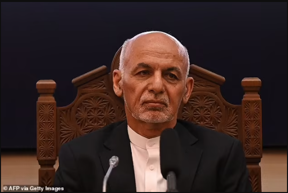 Afghan President fled with $169million in his helicopter and has been given asylum in Dubai