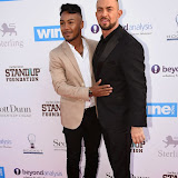OIC - ENTSIMAGES.COM - Marcus Collins and Robin Windsor at the Ben Cohen's StandUp Gala in London 21st May 2015  Photo Mobis Photos/OIC 0203 174 1069