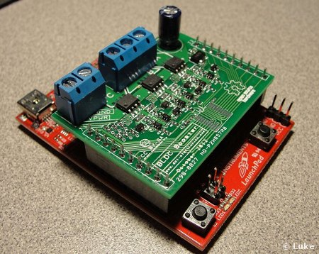 MSP430-based ESC Brushless DC Motor