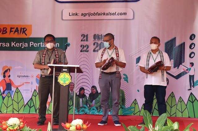 Fasilitasi Job Seeker di Kalsel, Kementan Launching Bursa Kerja Pertanian Berbasis Website