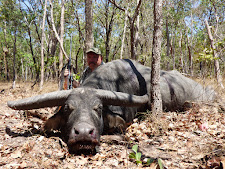Mr Polyak with another very nice buffalo bull at Carmor Plains