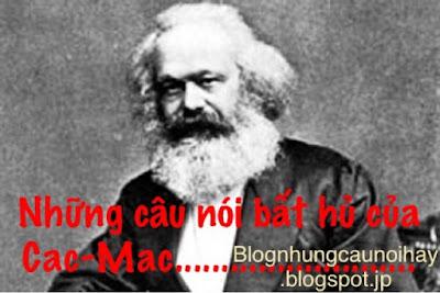 Những câu nói bất hủ của Karl Marx (Các Mác)