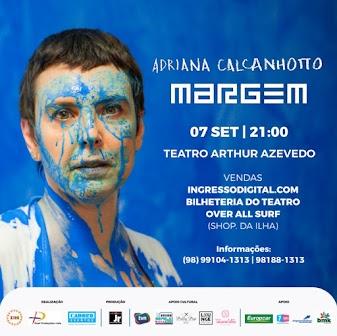Show Adriana Calcanhoto em São Luís