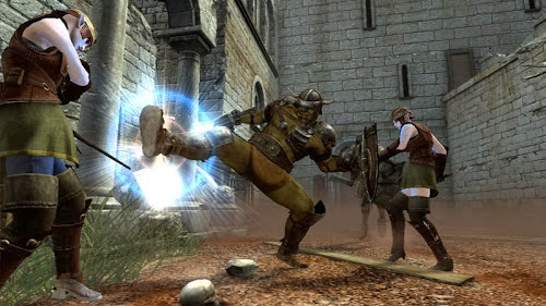 Screen Shot Of Clan Of Champions (2012) Full PC Game Free Download at Alldownloads4u.Com