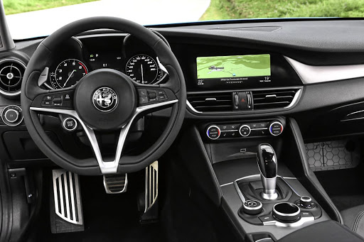 The interior features some of the best ergonomics in the business.   Picture:  QUICKPIC