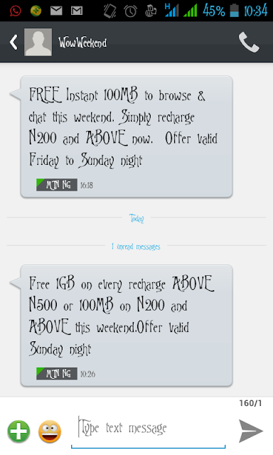 mtn 1gb weekend data