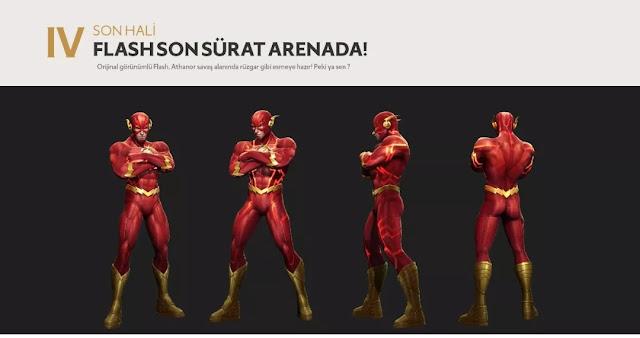 Yeni Kahraman Flash Tasarımı Yayınlandı - Arena of Valor