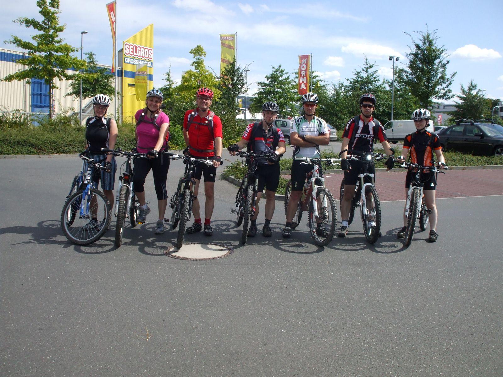 Einsteigertour am 22.08.2010
