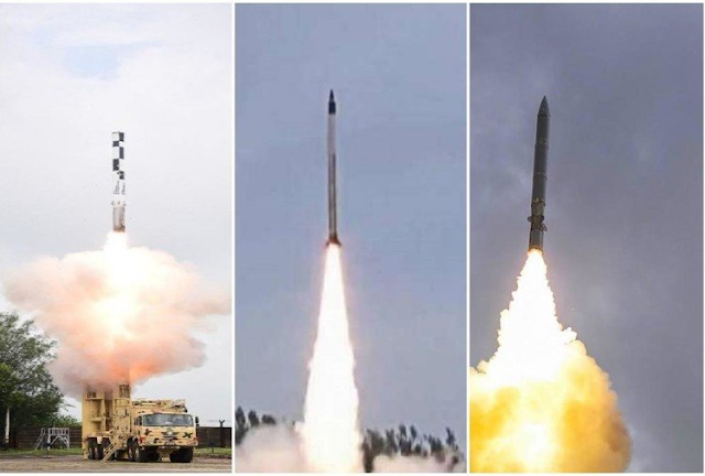Total missile tested in last two months