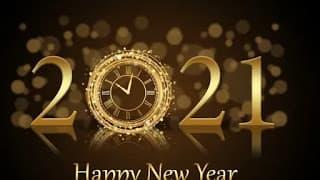 عبارات تهنئة بالسنة الجديدة 2021 .. رسائل تهنئة بالعام الجديد Happy new year 2021