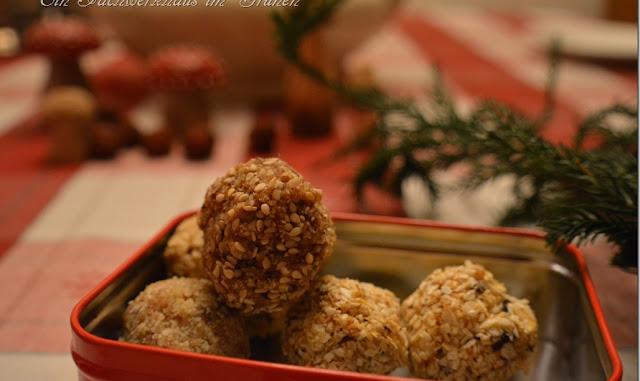 Fruchtpralinen für die Adventszeit