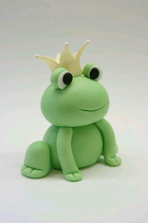 Modellier-Anleitung - Frosch