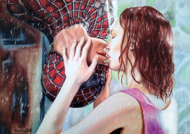 the spiderman KISS