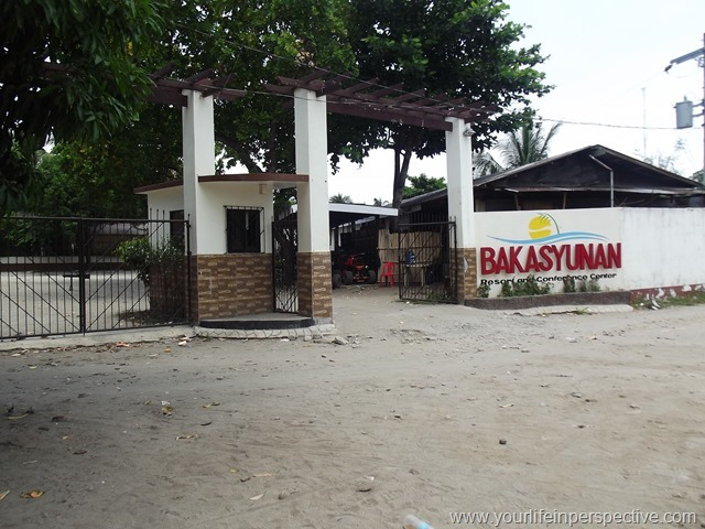 Bakasyunan Main Entrance