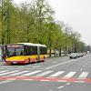 04-05-2013 | Warszawa | Aleje Ujazdowskie i Solaris ZTM nr lini 116