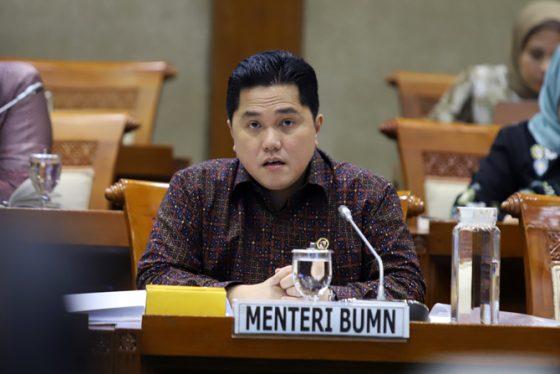 Menteri Erick Resmi Bentuk Subholding Krakatau Sarana Infrastruktur