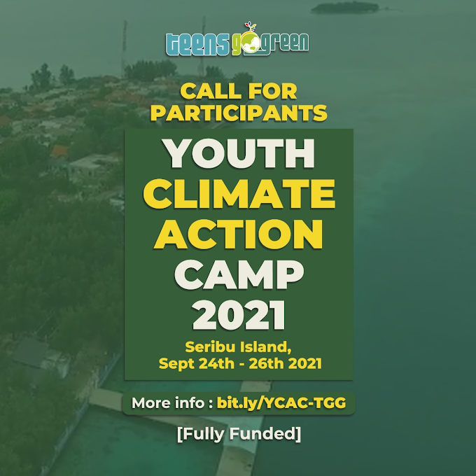 Call For Participant: Youth Climate Action Camp 2021