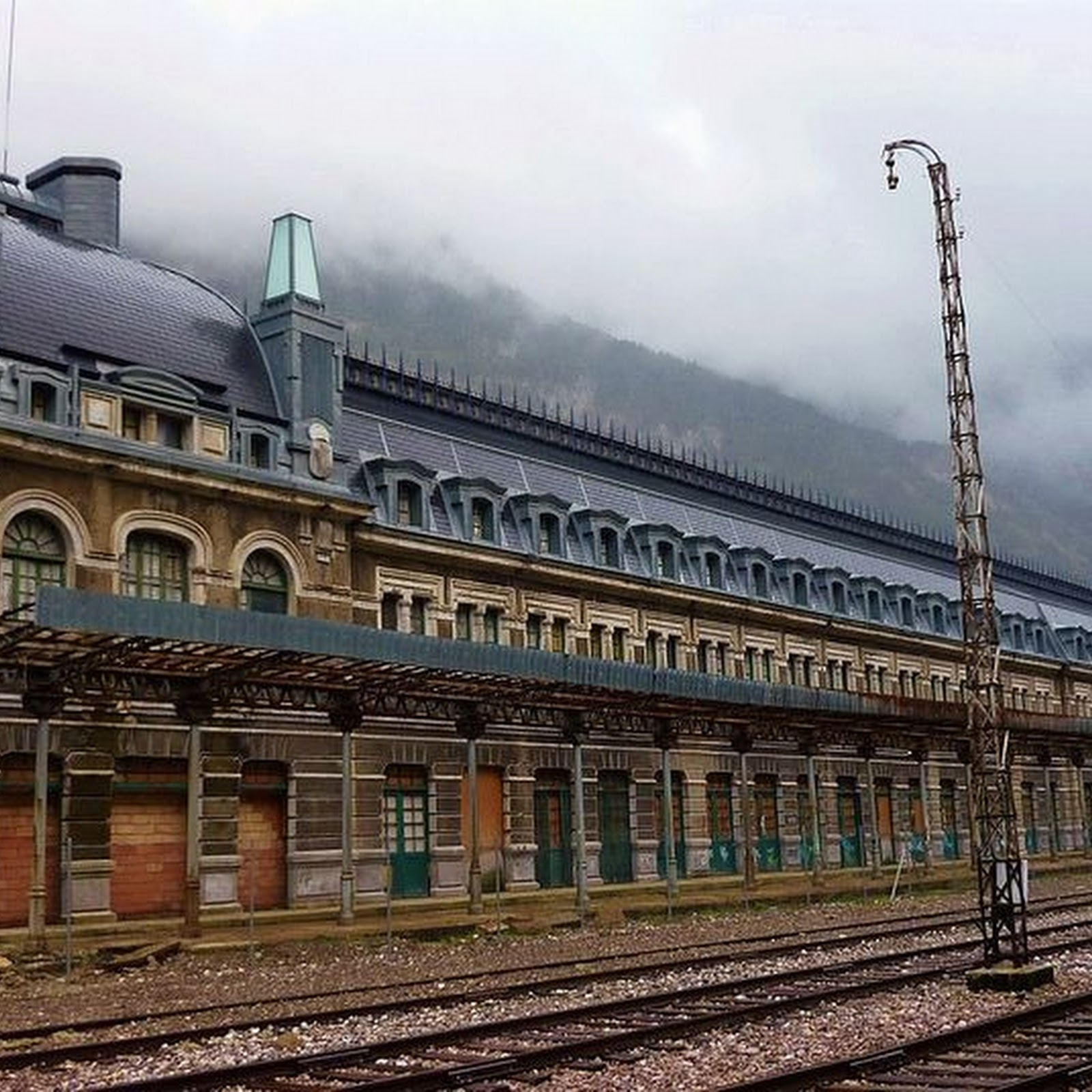 The Abandoned Canfranc Railway Station