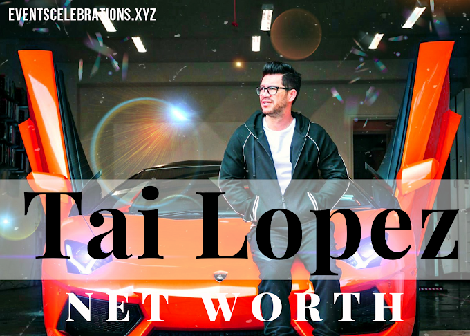 American Entrepreneur Tai Lopez's Net Worth 2020