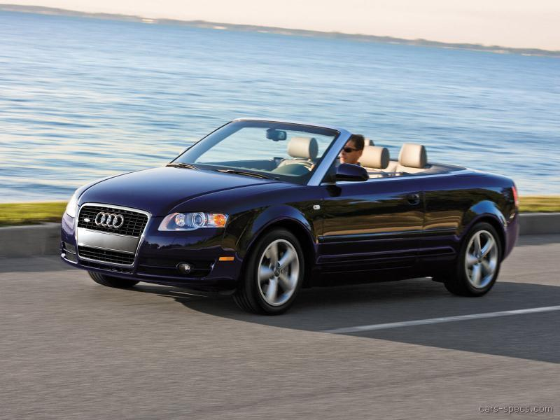 Audi A Convertible Specifications Pictures Prices - 2007 audi a4 specs