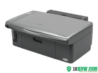 How to Reset Epson CX4800 lazer printer – Reset flashing lights problem