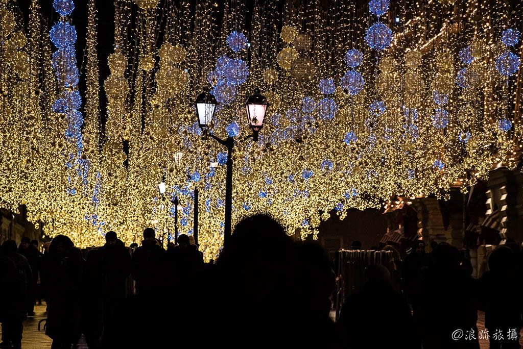 莫斯科夜景 紅場