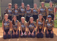 The 2015 Montgomery Twisters Gold 16U Team