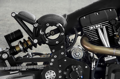CONFEDERATE MOTORCYCLES P120 BLACK FLAG