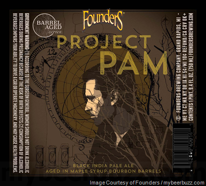 Founders NEW Barrel-Aged Series Project Pam