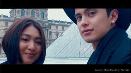Nadine Lustre and James Reid in The Life music video