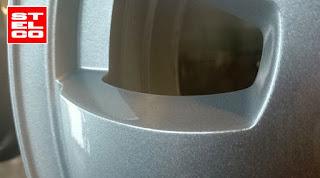 076-srebrna Felga-malowana-proszkowa