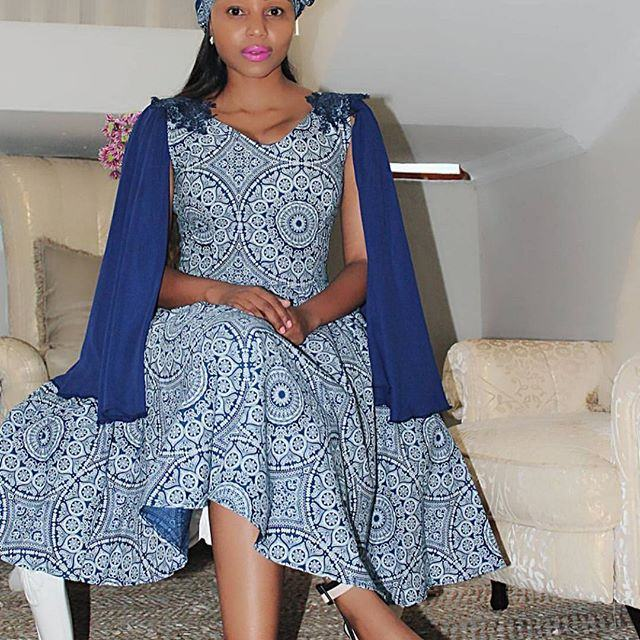 TRENDY SHWESHWE TRADITIONAL DRESSES FOR WOMAN 2020 1