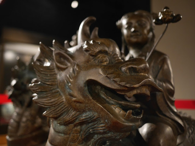 qilin sculpture at the Historical Folk Museum in Kinmen