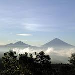 Gunung Batur & Gunung Agung View