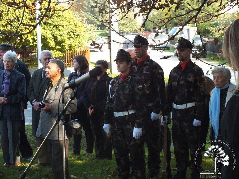 Díszörök készenlétben a felállásra - Magyar Honvédség 54. VP. Radarezred Díszelgő Alegység.JPG rel=