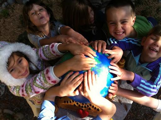 Students from Tara Redwood School, Soquel, California, USA, 2011. Photo by Amrita Cayton.