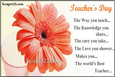 Happy Teachers Day  Image - 1