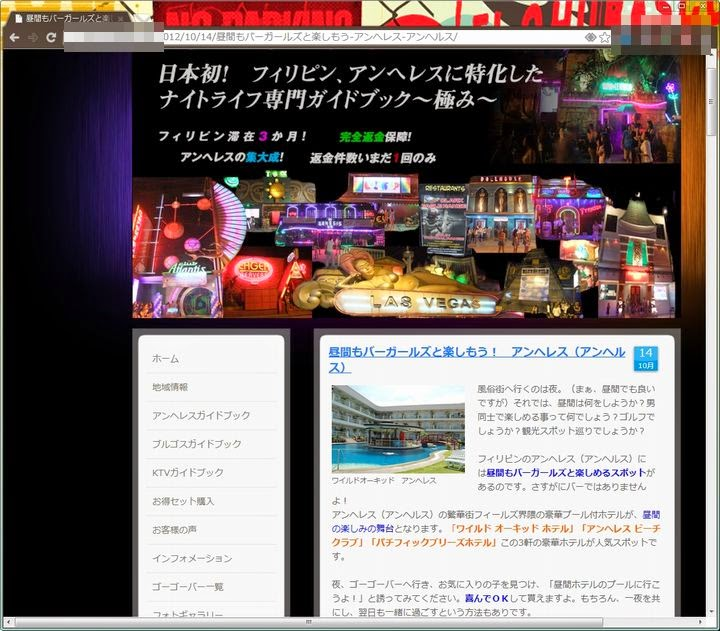 illegal blog site (A)